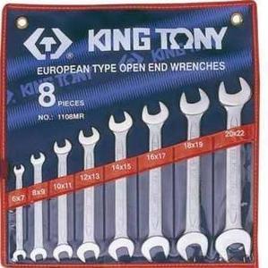 Набор рожковых ключей 6-22мм. 8 ед. KING TONY