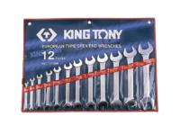 Набор рожковых ключей 6-32мм. 12 ед. KING TONY