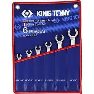 Набор ключей разрезных (силовых) дюймовые  6 ед. KING TONY