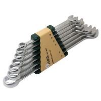 Набор рожково-накидных (комбинированных) ключей 7ед. (10-21) FORCE