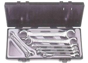 Набор ключей разрезных (силовых) 8-32мм. 8ед. FORCE