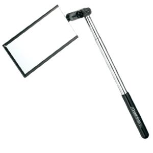 Телескопическое зеркало прямоугольное (50х92 мм), JONNESWAY