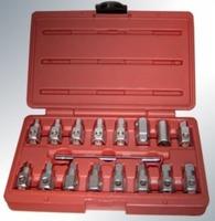 Набор ключей (головок) для маслосливных пробок, 17ед