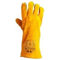 Перчатки для сварочных работ Долони 4507 (желтые), 10-й размер