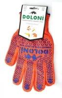 Перчатки рабочие с ПВХ-рисунком Долони 526, 10-й размер