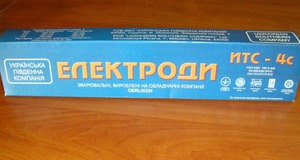 Электроды  ИТС-4С   Ø4мм  (5кг)