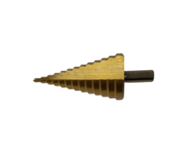 Сверло ступенчатое Ферон 4-39 (13 ступеней) титановое покрытие