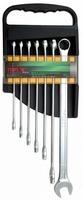 Набор рожково-накидных (комбинированных) ключей супердлинных 7ед. (10-19) TOPTUL