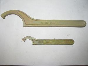 Ключ для круглых шлицевых гаек (КГЖ) 75-85 мм КЗСМИ