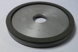 Круг алмазный шлифовальный двухсторонний 9а3 150х16х20х3х32 АС4 В2-01 зерно 80/63