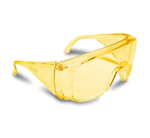 Очки защитные открытые Truper Wide (янтарь)