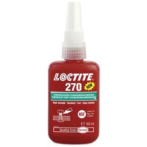 Loctite 270 - резьбовой фиксатор высокой прочности 50 мл