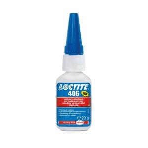 Loctite 406 - цианакрилатный клей для склеивания пластмассы и резины 20 мл