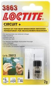 LOCTITE MR 3863 Circuit+ - токопроводящий клей для ремонта ниток обогрева заднего стекла автомобиля