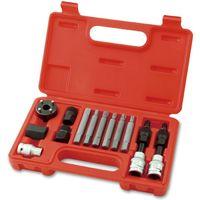 Набор для снятия шкивов генераторов Toptul 13 единиц JGAI1301