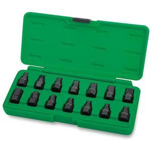 Набор головок для маслосливных пробок Toptul 14 ед. JGAI1403
