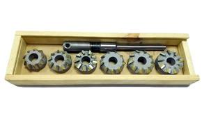 Набор зенковок с т/п для ремонта седел клапанов двигателей Т40, Т25, Т16, Д37, Д21, Д144