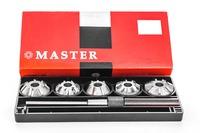 Набор зенковок ВАЗ 2108-2109 (1.1V и 1.3V) Master для ремонта седел клапанов