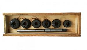 Набор зенковок СМД-60 для ремонта седел клапанов