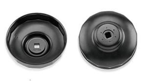 "Съемник масляного фильтра ""чашка"" 74мм/15гр (VW, AUDI) TOPTUL"