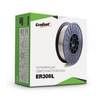 Сварочная проволока для нержавейки Gradient 0.8 мм (1 кг) ER308