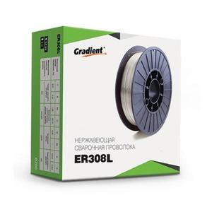 Сварочная проволока для нержавейки Gradient 0.8 мм (5 кг) ER308
