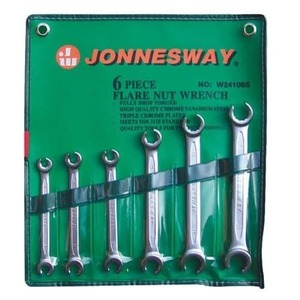 Набор ключей разрезных (силовых) 8-19мм. 6 ед. JONNESWAY