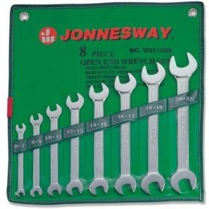 Набор рожковых ключей 6-22мм. 8 ед. JONNESWAY